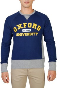Bluza Oxford University w młodzieżowym stylu z bawełny
