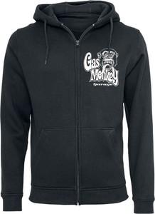 Czarna bluza Gas Monkey Garage w młodzieżowym stylu