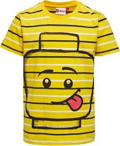 Koszulka dziecięca LEGO Wear z bawełny z krótkim rękawem
