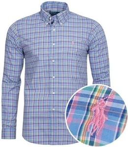 Koszula Ralph Lauren w stylu casual z bawełny z długim rękawem