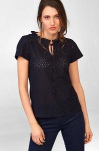 Czarny t-shirt ORSAY z okrągłym dekoltem