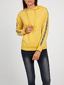 Bluza Gate z bawełny krótka w młodzieżowym stylu