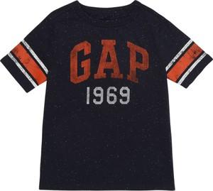 Czarna koszulka dziecięca Gap z dżerseju