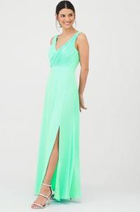Sukienka V by Very na ramiączkach z dekoltem w kształcie litery v