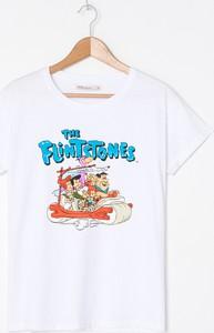 T-shirt House z krótkim rękawem z okrągłym dekoltem