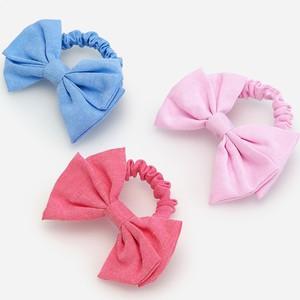 Reserved - Zestaw 3 gumek do włosów z kokardami - Różowy