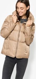 Brązowa kurtka Confront w stylu casual
