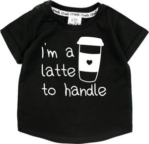 Koszulka dziecięca ilovemilk.pl z bawełny