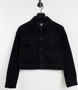 Czarna kurtka G-star z jeansu