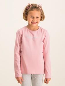 Różowa bluzka dziecięca Pepe Jeans