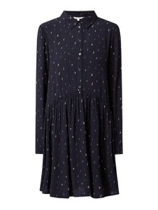 Granatowa sukienka Tom Tailor Denim mini w stylu casual