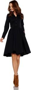 Sukienka Lemoniade z długim rękawem z tkaniny midi