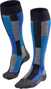 Niebieskie skarpetki Falke