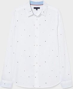 Koszula dziecięca C&A z bawełny w groszki