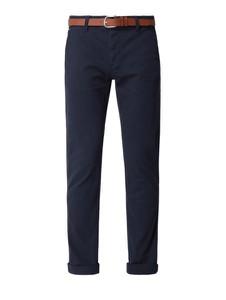 Granatowe spodnie Review