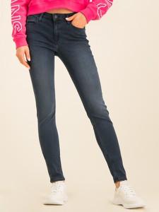 Granatowe jeansy Calvin Klein w stylu casual