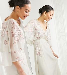 Sukienka Asos maxi w stylu casual
