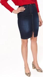 Spódnica Top Secret z jeansu w stylu casual