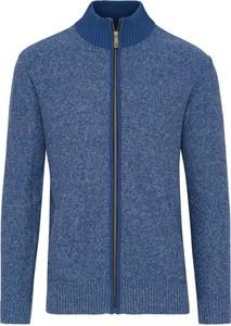 Niebieski sweter Lavard w stylu casual