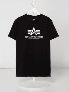 Czarna koszulka dziecięca Alpha Industries