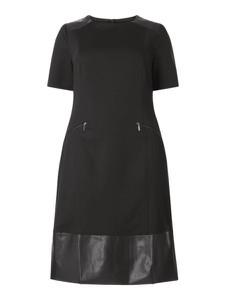 Sukienka Sheego mini z dżerseju z krótkim rękawem