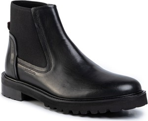 Czarne buty zimowe Strellson