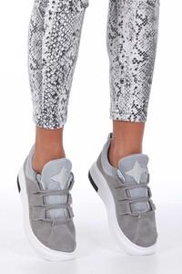 Buty sportowe Casu ze skóry ekologicznej