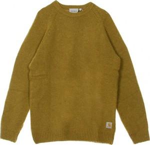 Zielony sweter Carhartt WIP z wełny