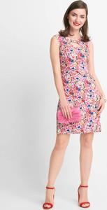 Sukienka QUIOSQUE bez rękawów mini