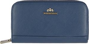 Granatowy portfel Wittchen