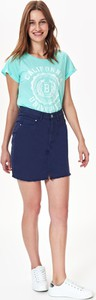 Spódnica Troll mini z tkaniny w stylu casual