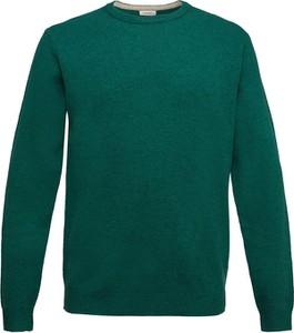 Zielony sweter Esprit z wełny