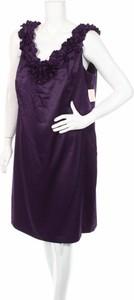 Fioletowa sukienka Dressbarn