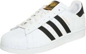 Buty sportowe Adidas Originals z płaską podeszwą w stylu casual ze skóry