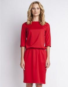 Czerwona sukienka Lanti mini