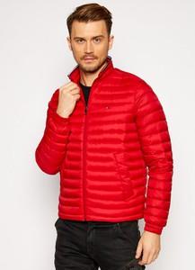 Czerwona kurtka Tommy Hilfiger w stylu casual krótka