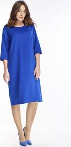 Sukienka Ptakmoda.com z długim rękawem midi w stylu casual