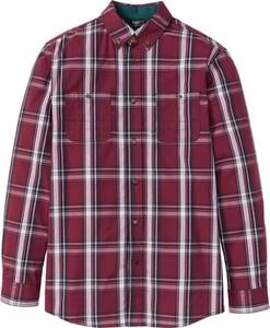 Czerwona koszula bonprix bpc bonprix collection