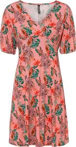 Sukienka bonprix w stylu casual z krótkim rękawem mini