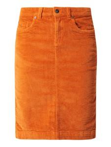 Pomarańczowa spódnica Montego