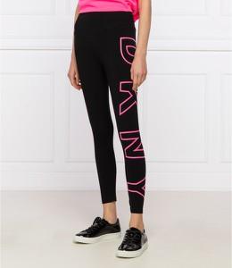 Czarne legginsy DKNY