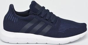Granatowe buty sportowe Adidas Originals sznurowane