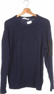 Granatowy sweter H&M