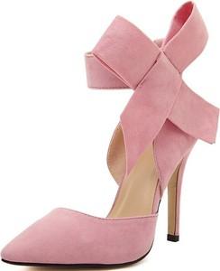 Różowe szpilki Yaze w stylu klasycznym