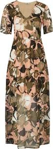 Sukienka Liu-Jo z dekoltem w kształcie litery v maxi w stylu casual