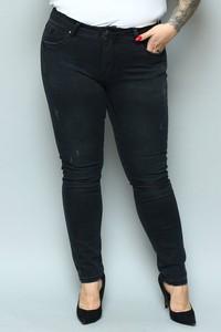 Jeansy KARKO z jeansu w stylu casual