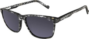 Czarne okulary damskie Goggle