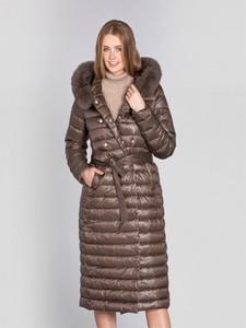 Brązowa kurtka Ochnik w stylu casual
