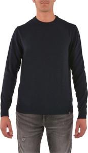 Niebieski sweter Colmar z wełny w stylu casual