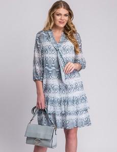 Sukienka Semper w stylu casual mini z dekoltem w kształcie litery v
